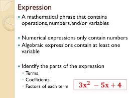 4 expression