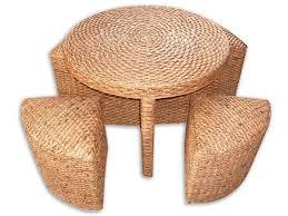 Round Rattan Ottoman Coffee Table Rattan Round Ottoman Coffee Table Home Decorating Thippo