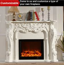 webetop fireplace mantel with electric fireplace insert simulate fire flame luxury fire places indoor heating heater fireplaces in fireplaces from home