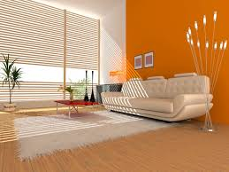 Paint Colour For Living Room Beautiful Bright Orange Paint Color For Your Interior Room Pizzafino