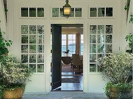 open front door. Looking Through Open Front Door N