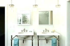 mini chandelier for bathroom small crystal drop round ideas bathroo