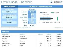 Event Budget Sample Excel Event Budget Template Sample Sports Example Team Expenses