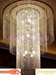 modern large size crystal chandelier