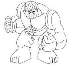 Lego Hulk Superheroes Coloring Pages Free Coloring Pages For Kids