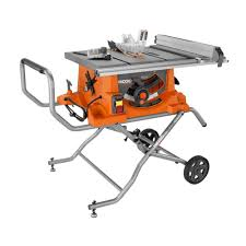 ridgid table saw motor. ridgid 15 amp 10 in. heavy-duty portable table saw with stand ridgid motor