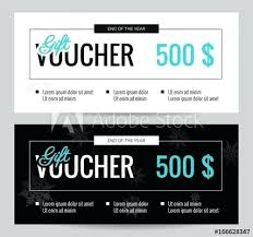 Shopping Spree Gift Certificate Template Gift Voucher Coupon Discount Elegant Certificate Template