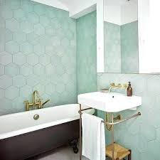 hexagon bathroom tile green hexagon tiles with black bathtub hexagonal terracotta floor tiles australia