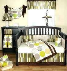 brown and green crib bedding green crib bedding set colorful baby boy nursery interior design jazz