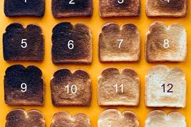 Toast Chart Crumbs How You Cook Your Toast Says A Lot About You The Sun