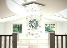 chandelier for two story foyer installing a chandelier installing er in two story foyer er for