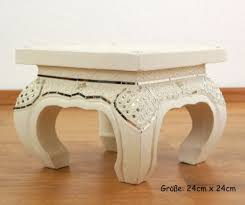 small asian opium table coffee table white glass