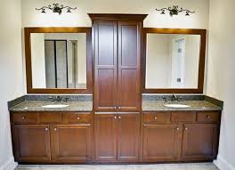 double sink vanity with center cabinet. full size of furniture:bathroom double vanity with center tower exquisite home images bathroom sink cabinet m