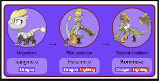 56 Genuine Jangmo O Evolution Level