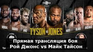 Прямая трансляция боя Майк Тайсон - Рой Джонс - Новости бокса и мма