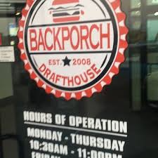 Backporch Drafthouse 33 s & 16 Reviews American