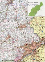 southeast pennsylvania map
