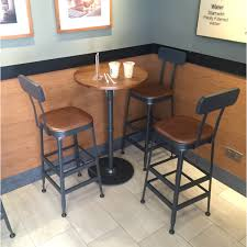 get ations american iron bar stool chair highchair starbucks coffee bar table small round wood dining tables and