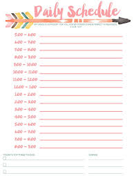 college calendar maker free printable schedules for school 7 best images of printable