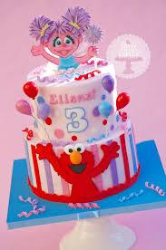 Elmo And Abby Cadabby Cake Daddydaughter Birthday Party Elmo