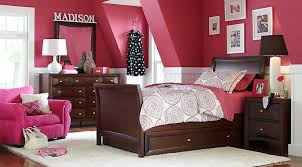 bedroom sets for girls. ivy league cherry 6 pc full sleigh bedroom sets for girls a