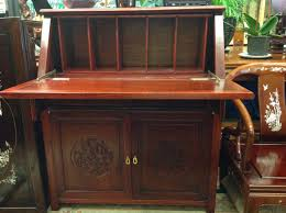 rosewood secretary desk sold