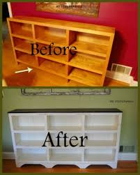 old furniture makeover. Ugly Bookcase To Cottage Charm - Top 60 Furniture Makeover DIY Projects And Negotiation Secrets Old