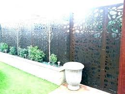 garden screen panels decorative outdoor metal screens nz