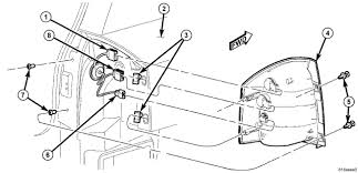 jeep patriot tail light wiring diagram jeep discover your wiring replace the right tail light assembly on a 2007 jeep patriot brake light wiring diagram