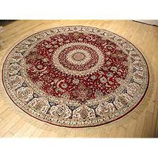 6 foot round rug 6 foot round rug red com inside rugs decor 6 7