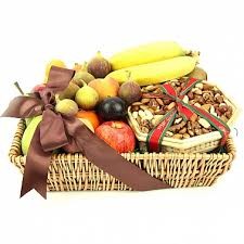 gourmet fruit n nut basket delivery to uk united kingdom