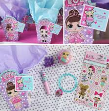 Lol Surprise Party Ideas Girls Party Ideas By Birthday In A Box