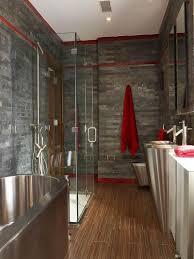 Dark Red Bathroom Accessories Door Handles Dark Wood Cabinets Double Vanity Bath Accessories