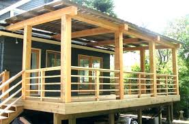 wood deck railing ideas front porch image of style outside stair designs diy plans wood deck railing ideas