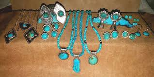 unique arizona turquoise and sterling pendant