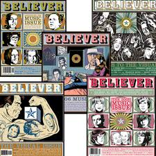 Believer Magazine Set: The First Music and Video Issues. Set of 5 (Issues  14, 20, 25, 30, 35): Amazon.com: Books