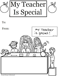 This week is teacher appreciation week and a simple thank you teacher note is a great way to make our teachers feel special and appreciate all that they do for our kids. Teacher Coloring Pages Best Coloring Pages For Kids