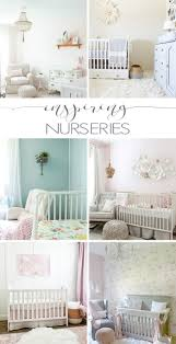 Looking for nursery decorating ideas? Don't miss these inspiring nurseries,  full of