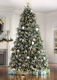 Dunhill Fir Pre-Lit Artificial Christmas Tree (9 ft) – Home ...