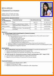 7 Cv Format Pdf Indian Style Theorynpractice