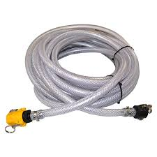 50 garden hose 5 8 clear braid