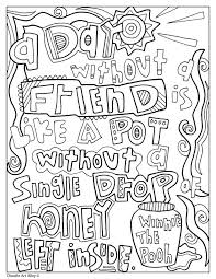 You will definitely find a picture for yourself. Quote Coloring Pages Doodle Art Alley