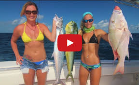 Florida Keys Wreck Fishing Tripleheader: Two Girls Three Fish ...