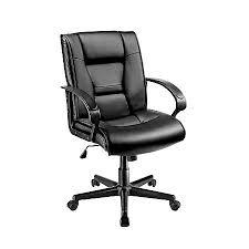 Brenton Studio Ruzzi Mid Back Vinyl Chair 38 41 34 H x 24 12 W x 27