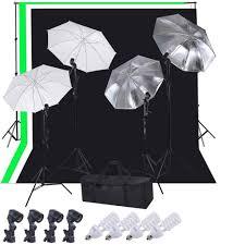 complete photo 33 umbrella gwb backdrops stand lighting kit