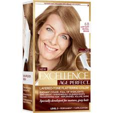 Age Perfect Hair Color Chart Loreal Paris Excellence Age Perfect Hair Color For Gray