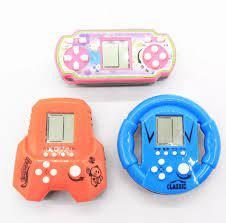 Máy chơi game cầm tay Tetris mini nhiều mẫu 22 trò chơi - Đồ chơi trẻ em -