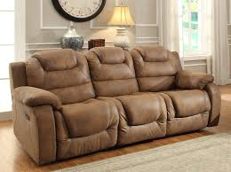 homelegance hoyt double recliner sofa brown microfiber double recliner sofa a66
