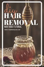 diy step by step hair removal waxing tutorial gigi wax hair removal kit leg
