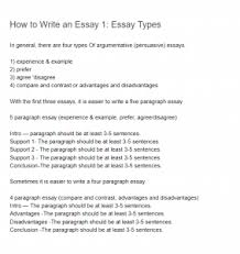 how to write an essay essay types essay essays  how to write an essay